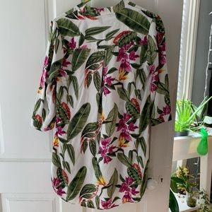 Forever 21 Tops - Floral/botanical forever 21 tunic